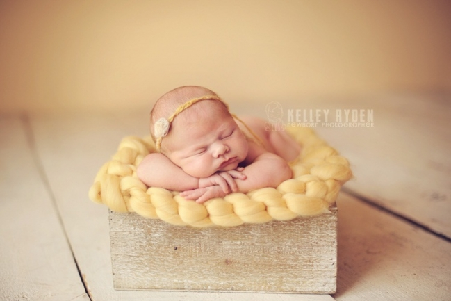 Newborn posing more devoted knits