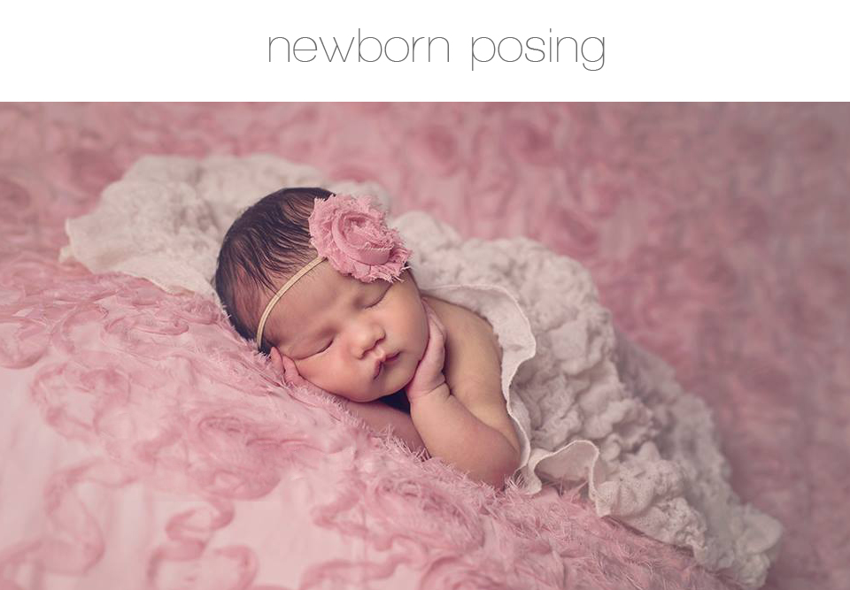 How To Pose Newborns For Photos